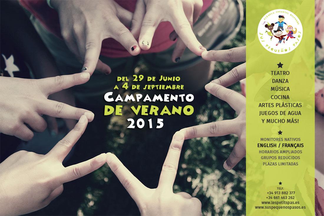 Campamento de verano 2015