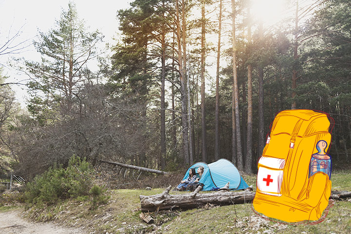 Taller de primeros auxilios en verano