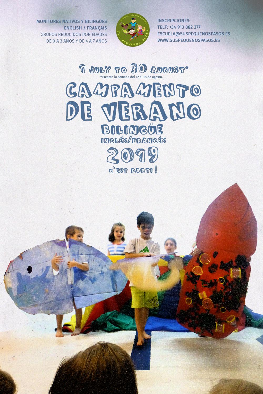 Campamento de verano bilingüe 2019